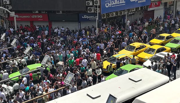 Iran: Protests, Sanctions, and Regime Viability