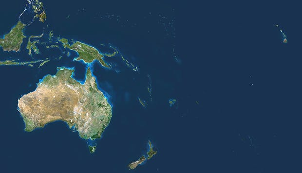 Securing the Peace in Oceania and the Pacific Islands