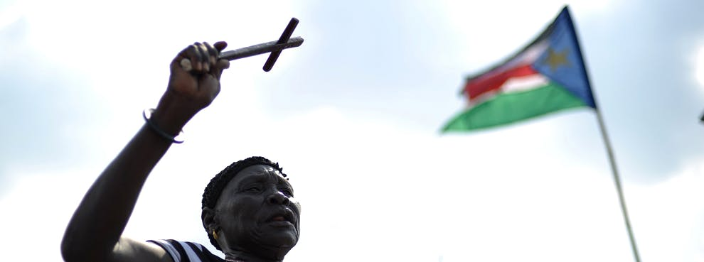 In Sudan a Pregnant Woman May Be Hanged for Marrying a Christian