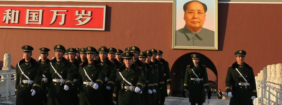 The Cracks in China's Political Narrative