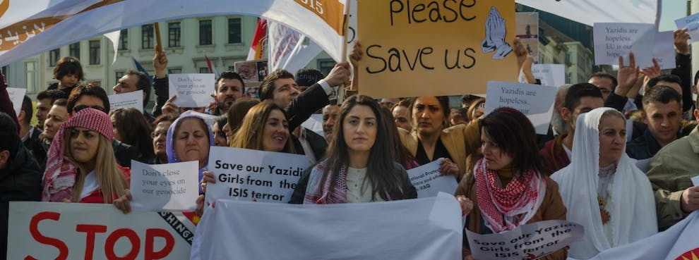 ISIS Genocide Mideast -- U.S. Must Take Refugees