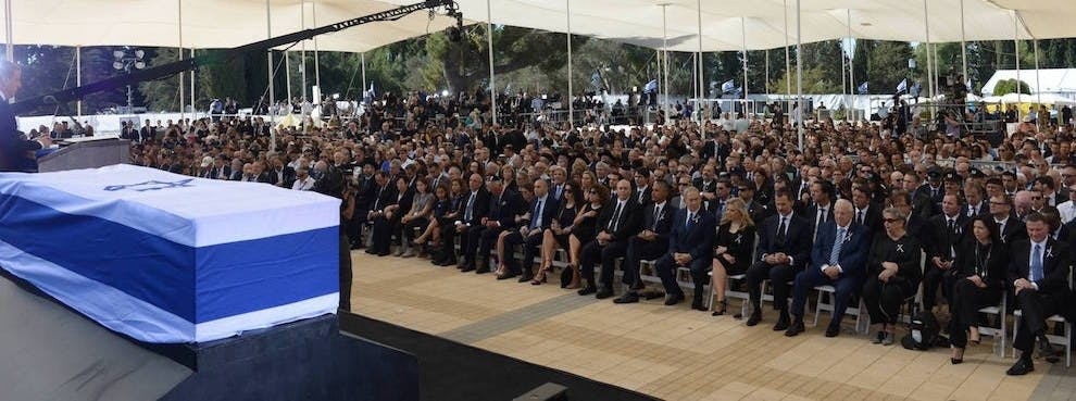 An Enormous Funeral for an Enigmatic Israeli Leader