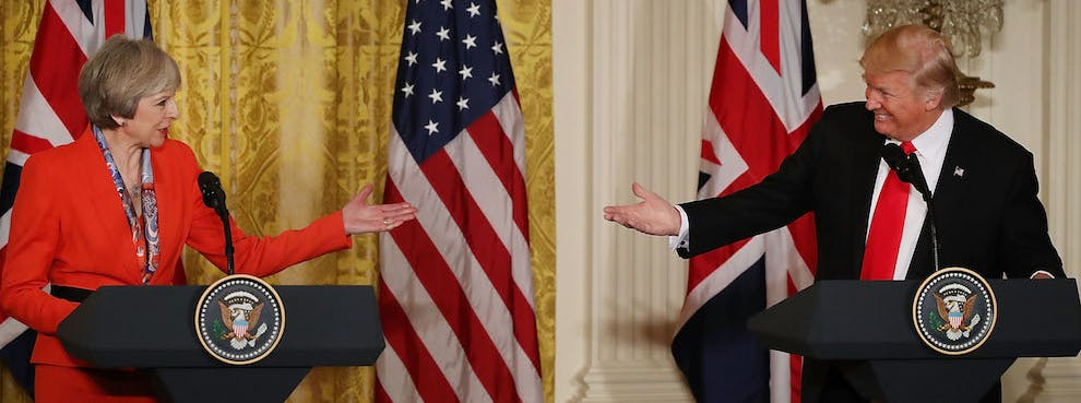 Trump's 'America First' Puts Britain 'at the Front of the Line'