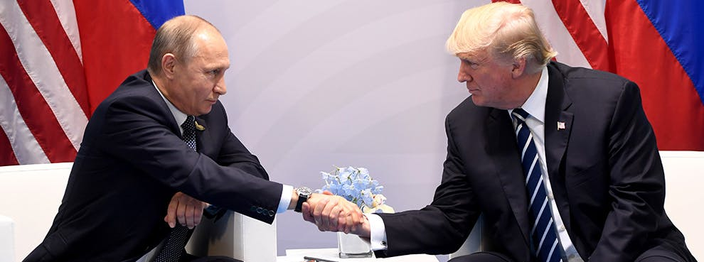 Trump Must Stand Strong Against Putin