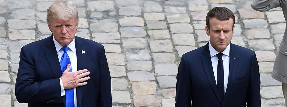 The Terror-Fighting Burden on Emmanuel Macron: What President Trump Should Ask From The French President