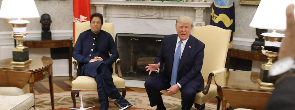A Very Happy Pakistan PM Imran Khan Must Remember Trump's Affections Are as Fickle as His