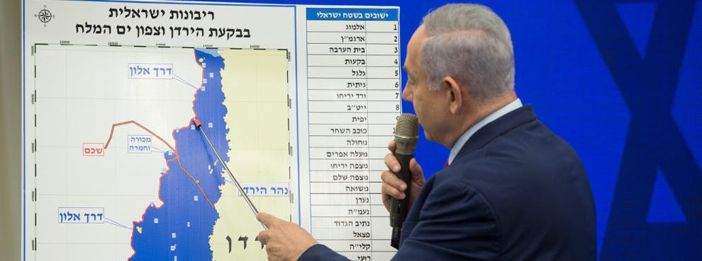 Palestinian Misstep Could Bring Annexation
