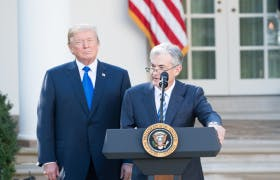 Trump, Powell Play Good Cop, Bad Cop