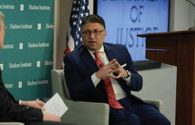 Transcript: US Antitrust Policy:  A Discussion with Assistant  Attorney General Makan Delrahim