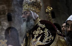 Fight Over Christmas Hints of Looming Coptic Schism