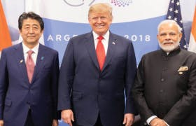 The Rise of India and Japan-America-India Defence Technology Cooperation