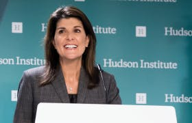 Transcript: A Conversation with Ambassador Nikki R. Haley